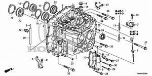 At Transmission Case For 2013 Honda Fit 5