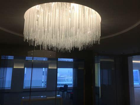 lustre bureau lustre sur mesure pour le salle de réunion attenante au