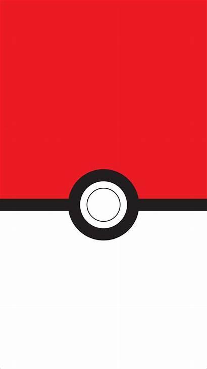 Minimalist Pokemon Pokeball Ball Papel Parede Nintendo