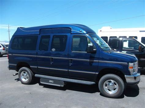 Purchase used 2011 FORD E350 NORCAL MOBILITY WHEELCHAIR