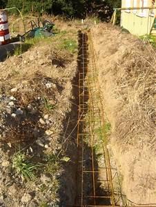 Ferraillage Fondation Mur De Cloture : fondation mur de cloture avant de reprendre le mur de ~ Dailycaller-alerts.com Idées de Décoration