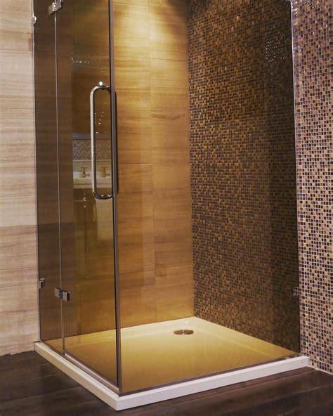 chadder sussex corner shower enclosure  unique smoked