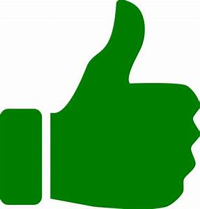 Thumbs-up-icon-green-th Clip Art at Clker.com - vector ...