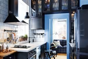 Armoire Metallique Bleue Ikea by Small Space Kitchen
