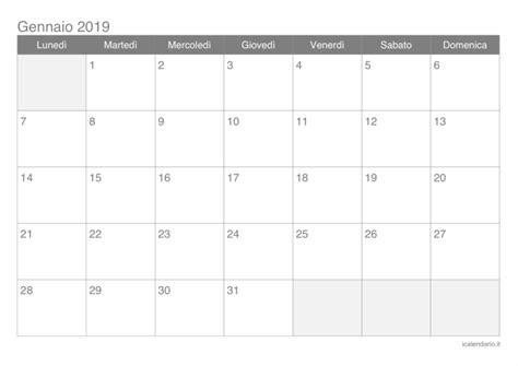 calendario annuale 2019 da stare gratis calendario annuale 2019 pdf da stare 474765