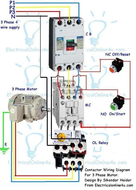 3 phase start stop wiring diagram fuse box and wiring diagram