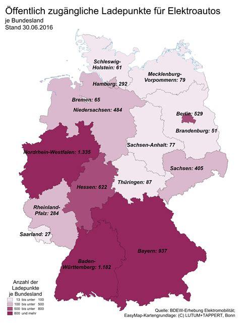 Ladestationen Fuer Elektroautos Interaktive Karte by Wo Es Die Meisten Elektroauto Ladepunkte Gibt Infografik