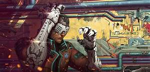 Cyborg, Anime, Futuristic, Artwork, Concept, Art, Fantasy, Art, Cyberpunk, Wallpapers, Hd, Desktop