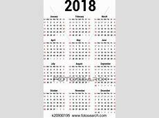 Clipart calendario, 2018 k20930195 Buscar Clip Art