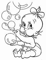 Bubbles Coloring Pages Blowing Babies Baby Hopkins Printable Getcolorings Print Template sketch template