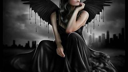 Angel Dark Backgrounds Wallpapers Fallen Background Pw