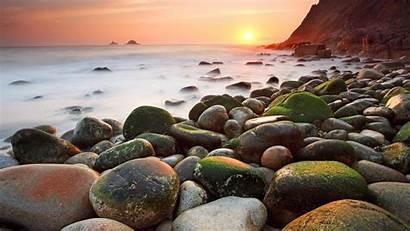 Stone Beach Stones Wallpapers 8k Ultra Earth