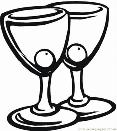 Coloring Pages Cocktail Pair Drinks Truck Water