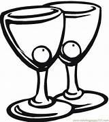 Coloring Cocktail Colorir Colorare Disegni Martini Desenhos Drinks Imprimir Copos Azeitona Pair Calices Copas Pintar Coctel Calice Cocktails Coloringpages101 Colorear sketch template