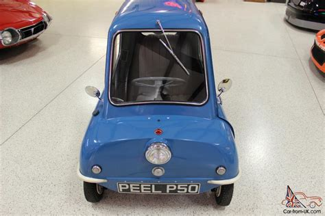 Peel P50 For Sale by 1963 Peel P50 Replica And Vintage Pav Trailer
