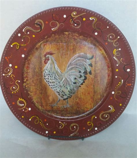 decorative plates images  pinterest charger plates vinyl projects  christmas crafts