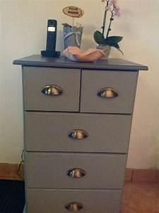 Petit Meuble à Tiroirs : petit meuble tiroirs ancien ~ Teatrodelosmanantiales.com Idées de Décoration
