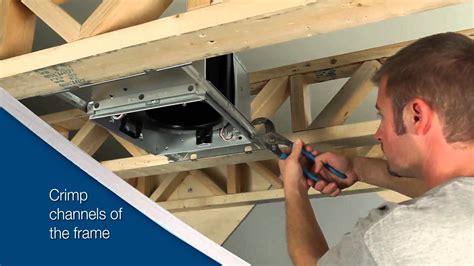 broan bathroom fan installation instructions broan ultragreen series ventilation fan installation