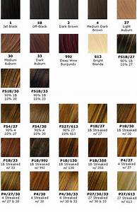 Way Hair Extensions Color Chart Pin By Nancy Baghdadi On Hair Color Charts Braiding Hair