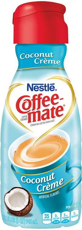 Our coffee creamer is coffee's perfect mate. Coffee-mate® Liquid Coconut Creme Reviews 2019