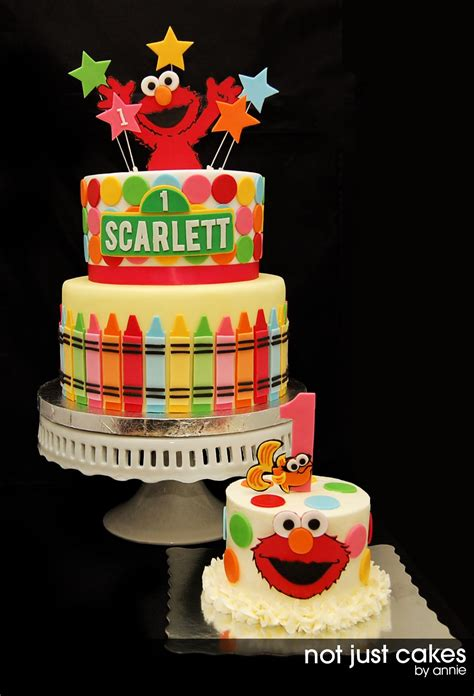 elmo cake  smash cake   cakes  annie cakes