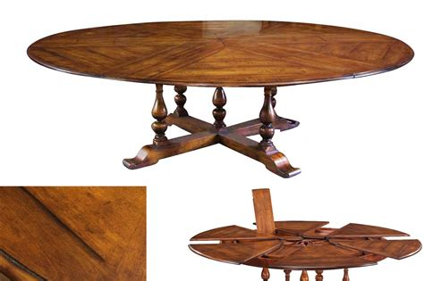extra large round dining table jupe table extra large round solid walnut round dining table