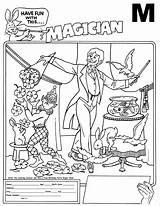 Magician Coloring Designlooter Contest 1278 47kb 2472 sketch template