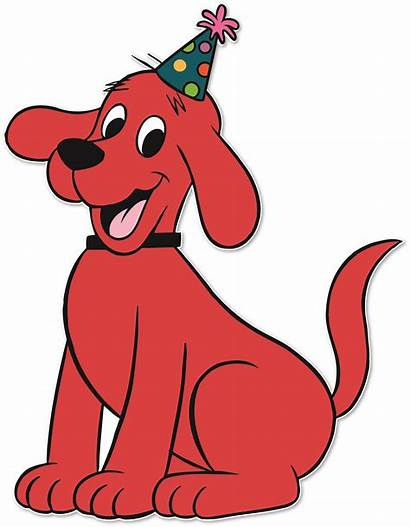 Clifford Dog Clipart Clip Birthday Country Party