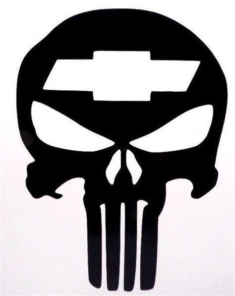 cool vinyl stickers punisher skull chevy cool car truck window vinyl decal sticker choose color vinyldecalsticker