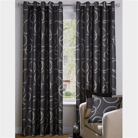 Black And Grey Curtains by Product Not Found