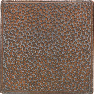 iron tile daltile castle metals wrought iron hammered insert