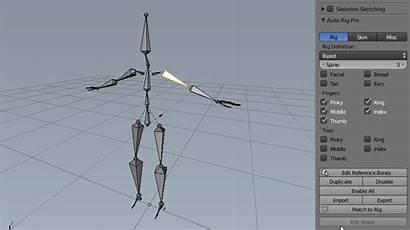 Rig Pro Blender Mirror Blendermarket Bone Intuitive