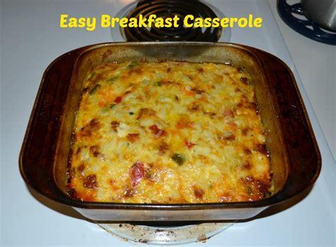 easy breakfast casseroles easy breakfast casserole recipe dishmaps