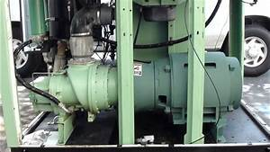 How A Oil Flooded Rotary Screw Air Compressor Works