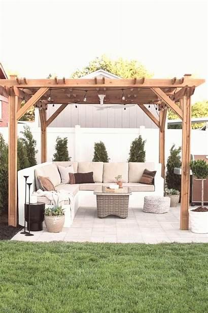 Backyard Grass Pergola Patio Garden Entertainment Artificial