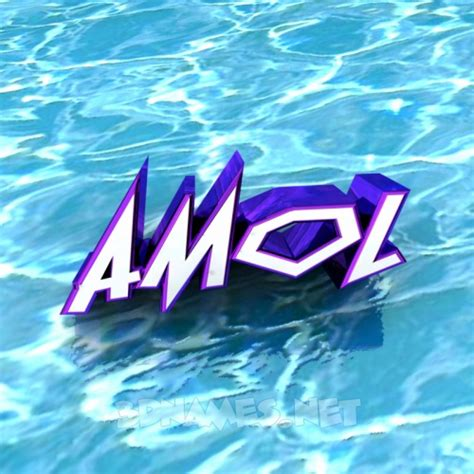 21 3d Name Wallpaper Images For The Name Of 'amol
