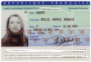 Carte D Identité Provisoire : piece d 39 identit mam 39 zelle emie ~ Medecine-chirurgie-esthetiques.com Avis de Voitures