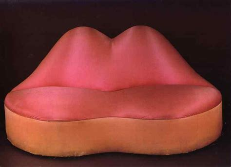 mae west s lips sofa 1936 by salvador dali