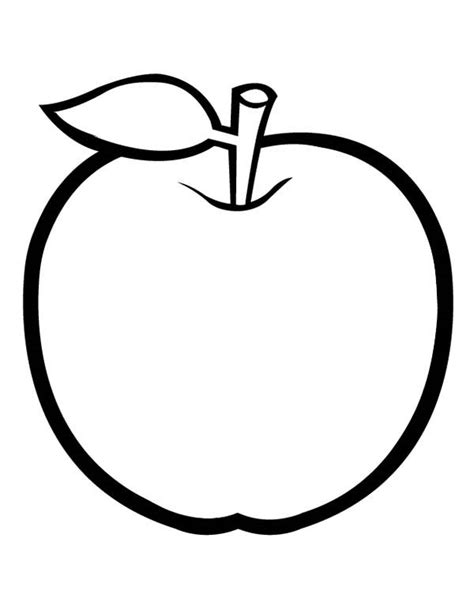 apple  leaf coloring page coloring sky