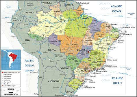 geography brazil  climate change