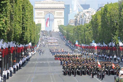 Bastille Day Parade in Paris France