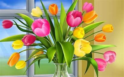 Screensavers Spring Wallpapers Desktop Flowers Windows Background