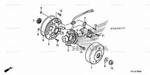 Honda Motorcycle 2005 Oem Parts Diagram For Alternator