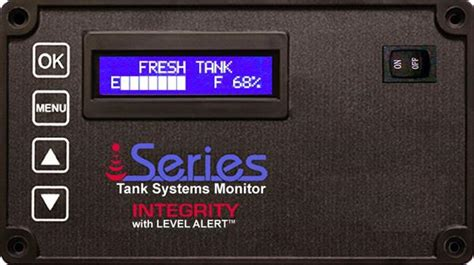 integrity tank monitor system    lcd kit rv parts country
