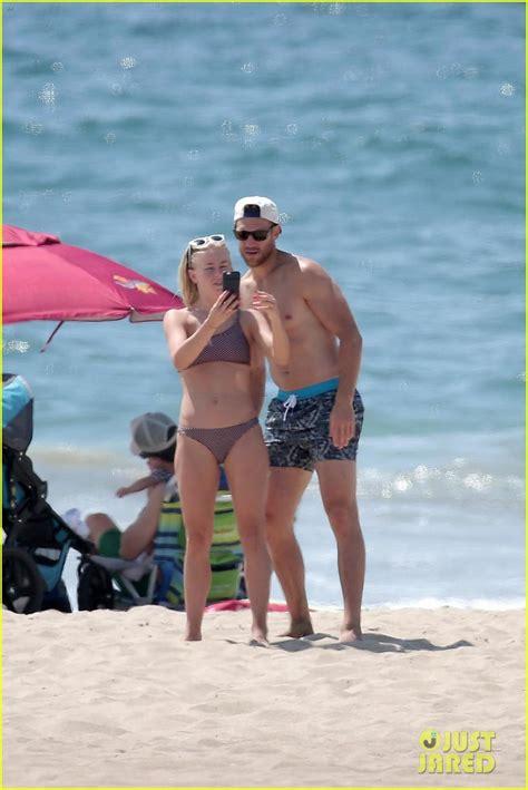hayley magnus bikini julianne hough husband brooks laich show off hot beach