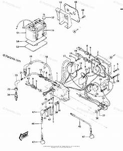 Kawasaki Jet Ski 1985 Oem Parts Diagram For Electric Case