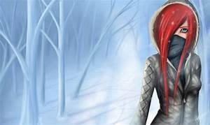 Girl in winter forest by ZackArgunov on DeviantArt
