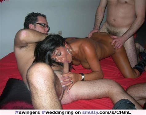 Weddingring Swingers Mmf Threesome Wife Hotwife