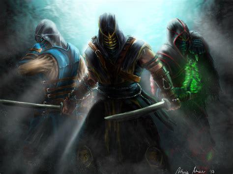 mortal kombat warriors swords ninja games warrior fantasy