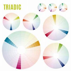 Color Wheel With Shade Of Colors Color Harmony  U2014 Stock